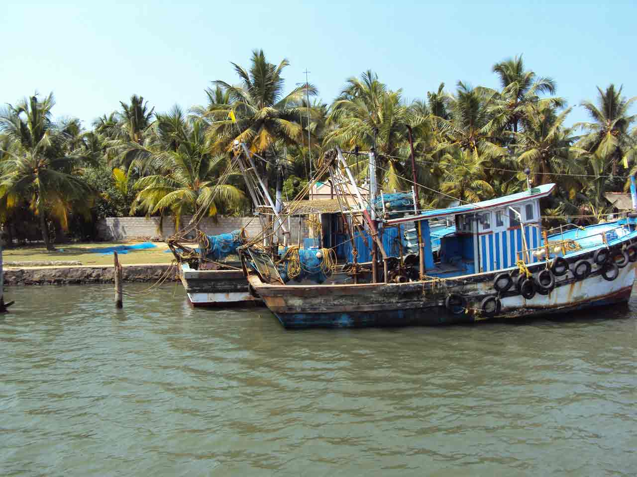 Backpacking in India - Kerala Backwater Tour
