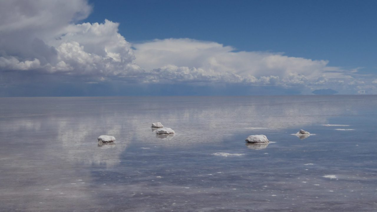Salt Sea at Uyuni