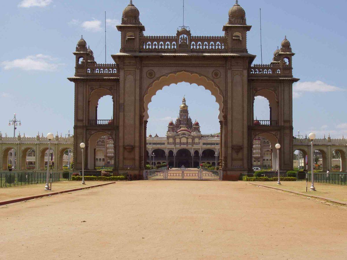 Eingangstor zum Palast
