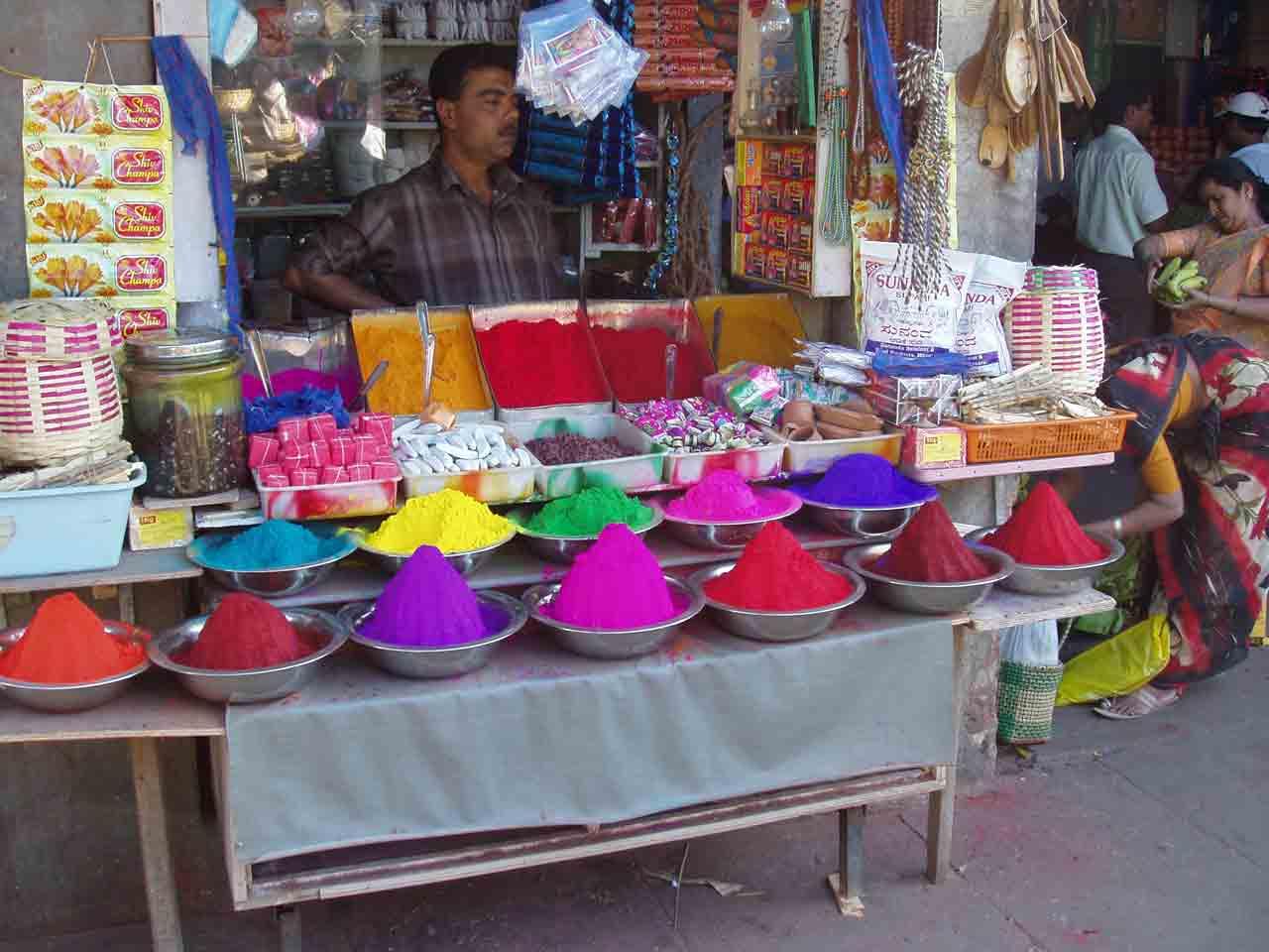 Exuberant display of colors