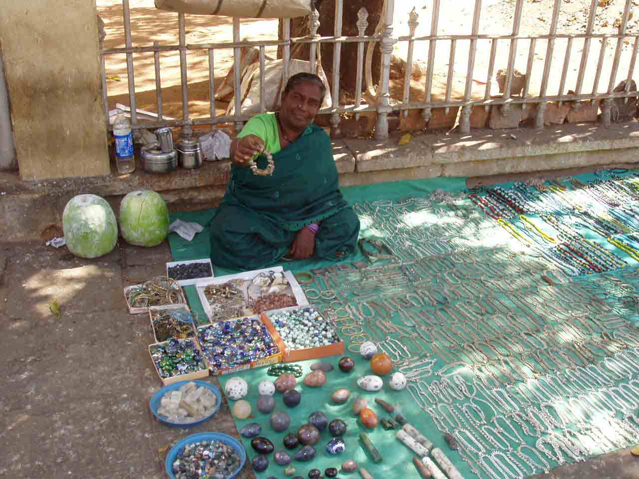 Mysore stall woman