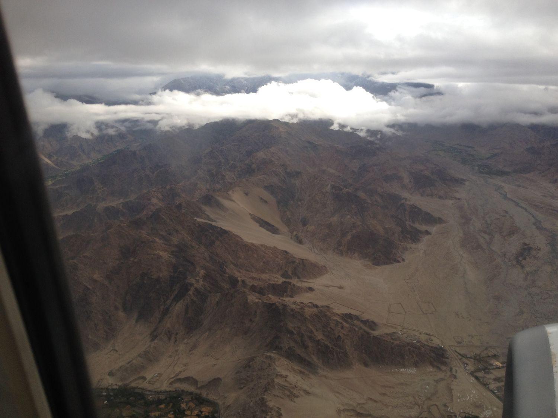 Gloomy mountain ranges