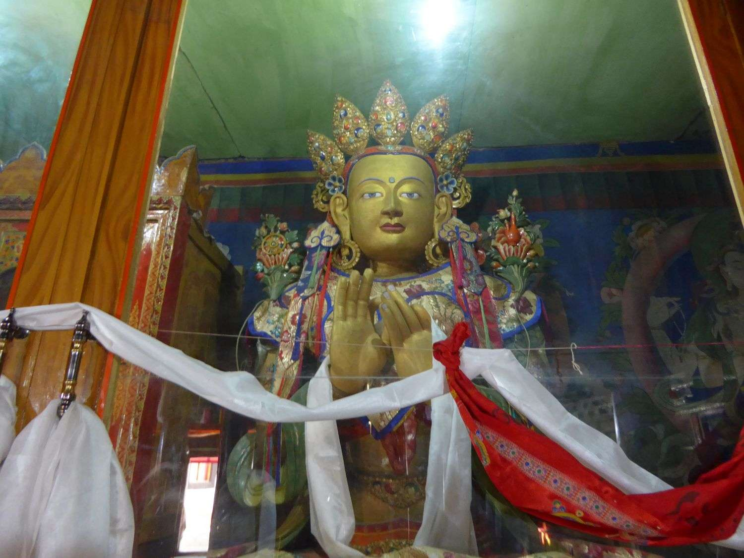 Buddha in the sanctum