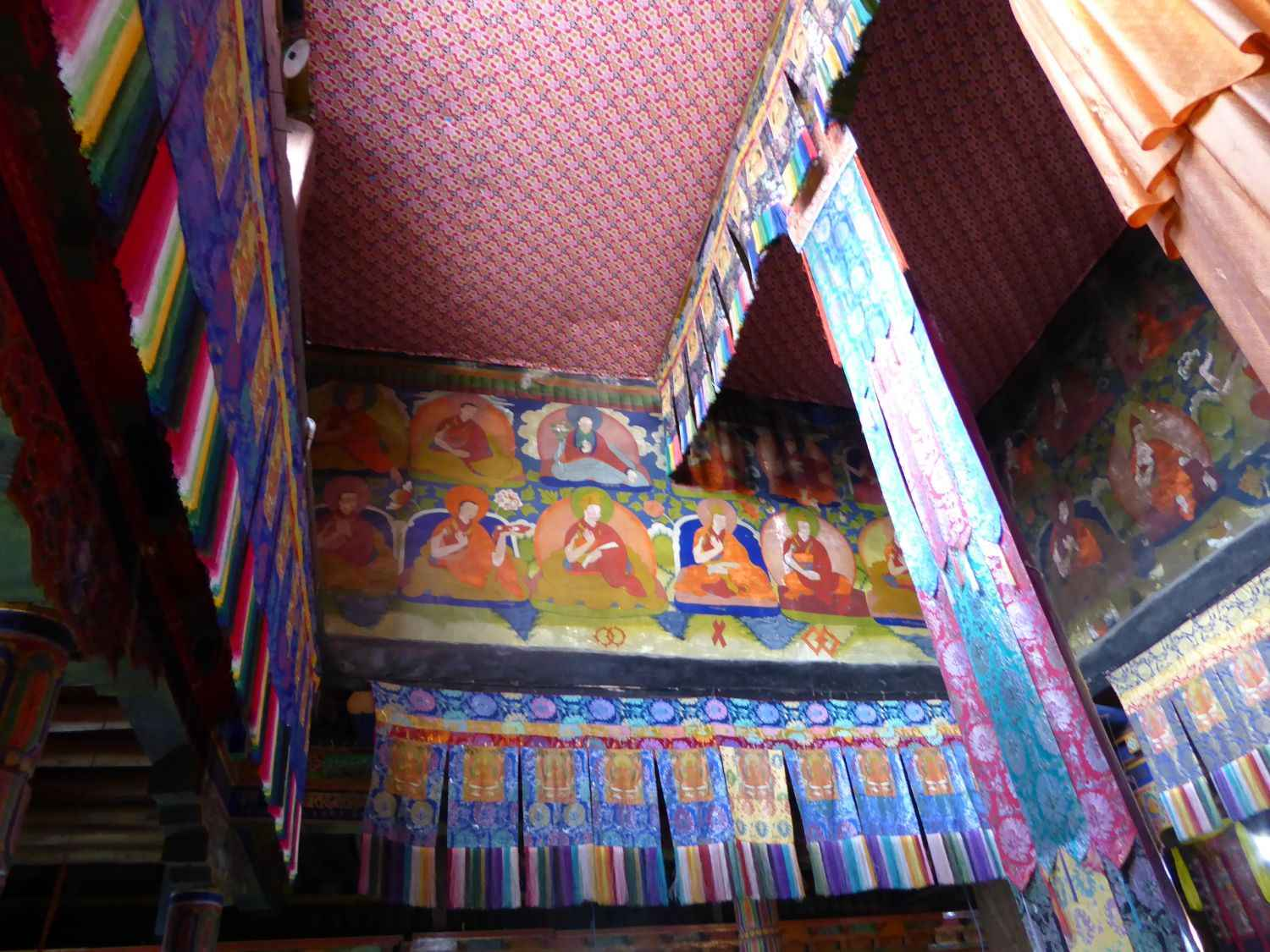 Roof of the sanctum