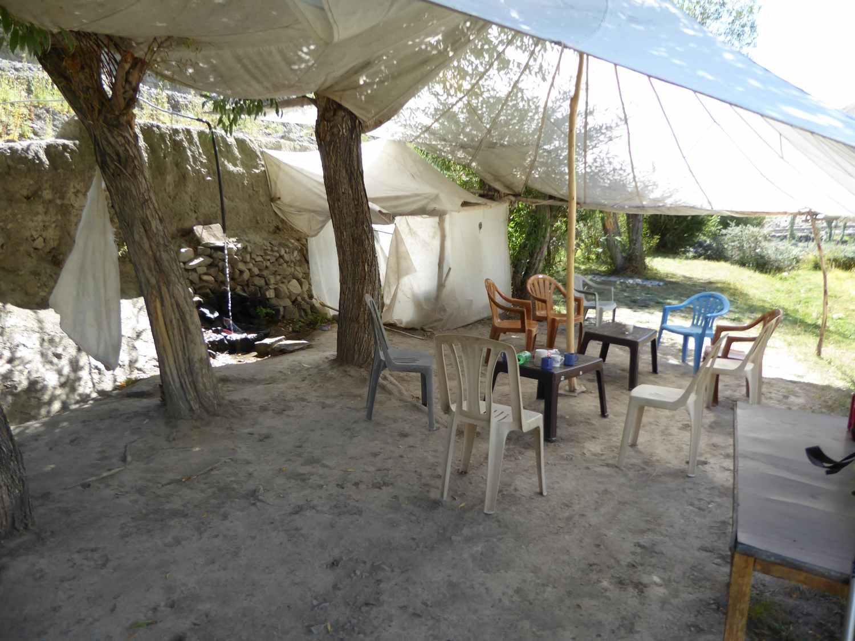 Kleines Restaurant am Wegrand