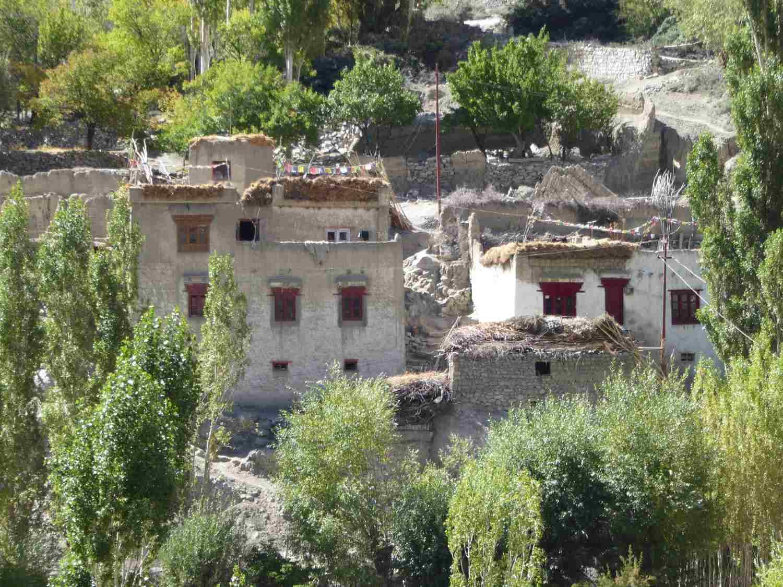 Ladakhi Häuser