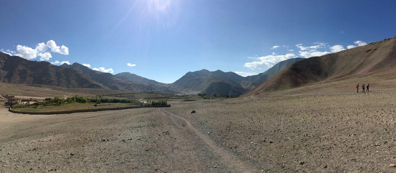 Der Weg zum nächsten Dorf