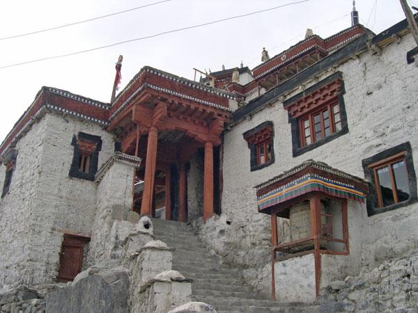 Entrance monastery