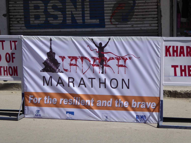 Marathon in Leh