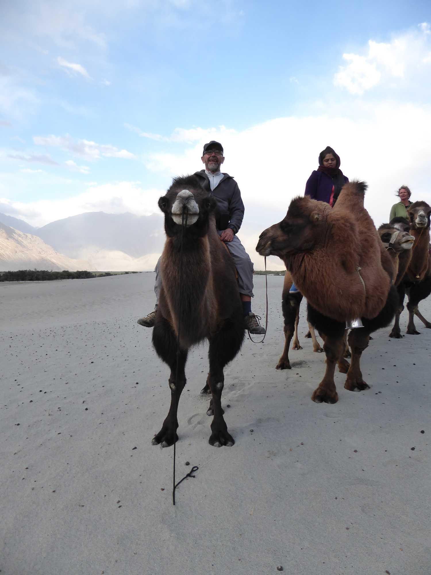 On the road in caravan