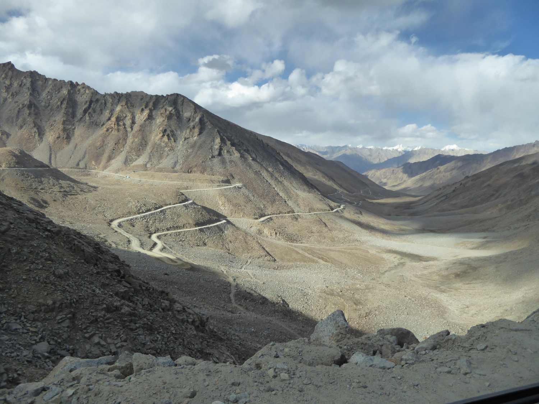 road in desert land