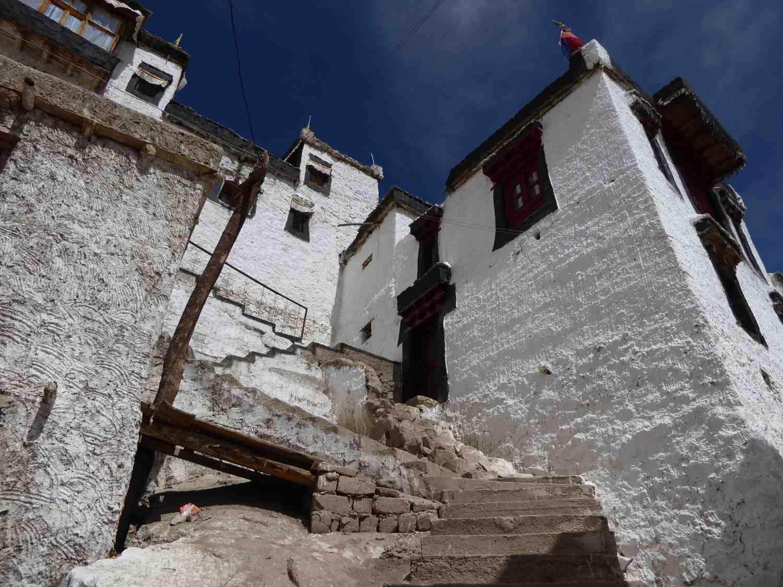 noch mehr Treppen und Mauern