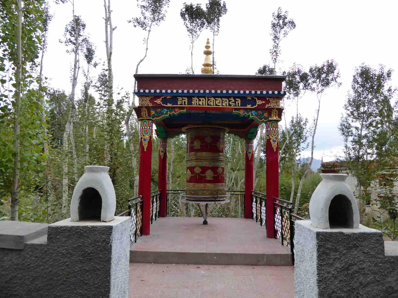 Ein kleiner Tempel