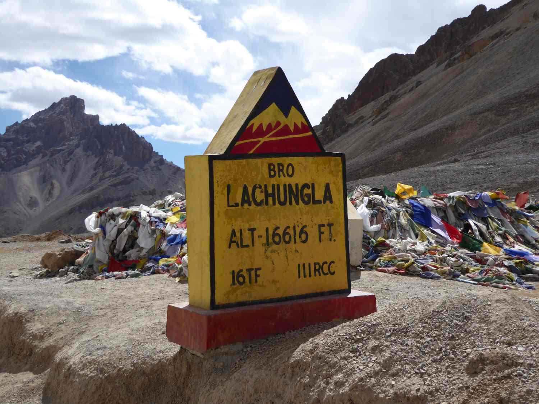 Lachung La Passhöhe