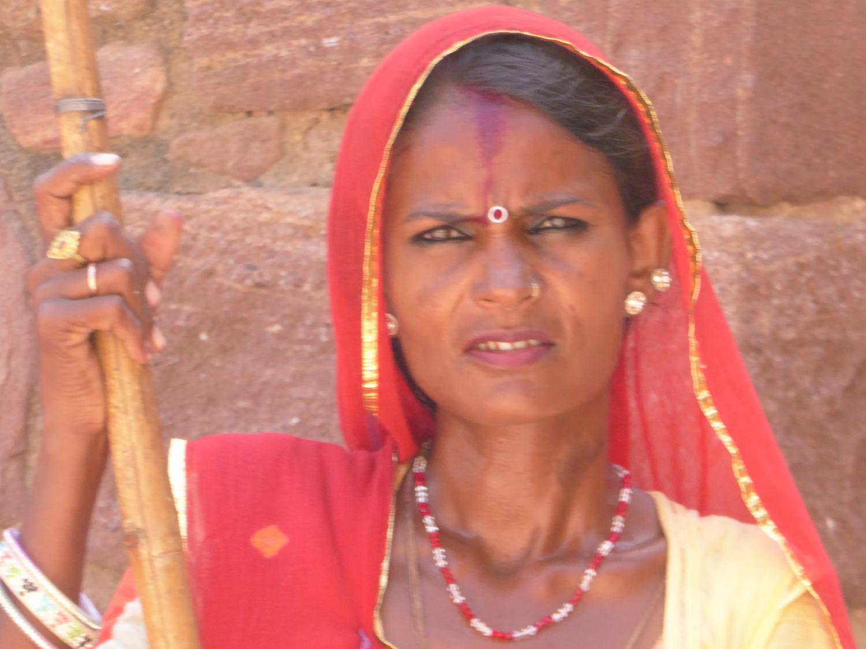 klassische indische Schönheit
