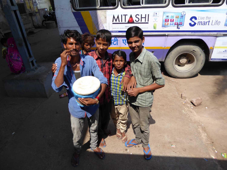 Stop in Rajasthan