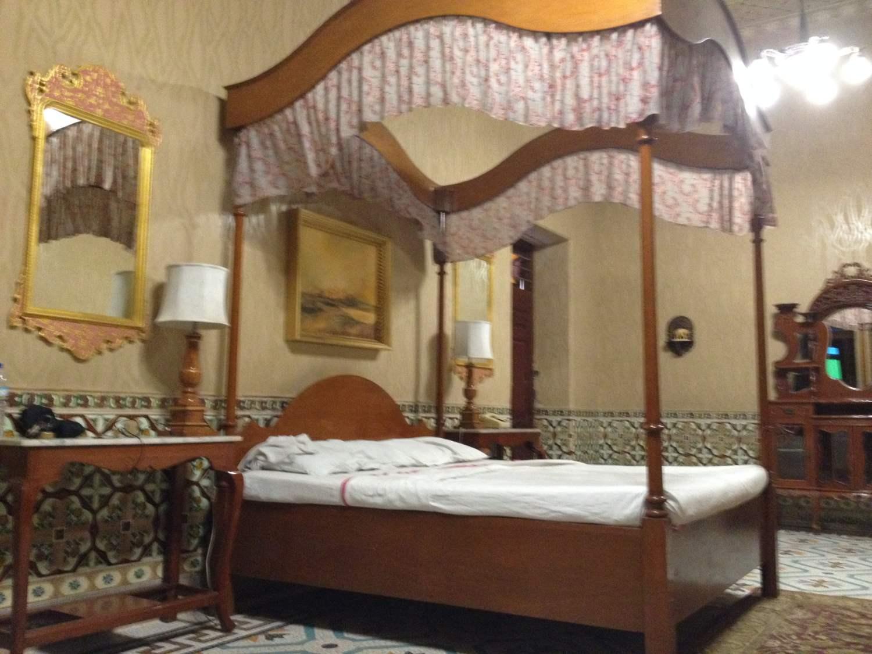 Fürstliches Bett