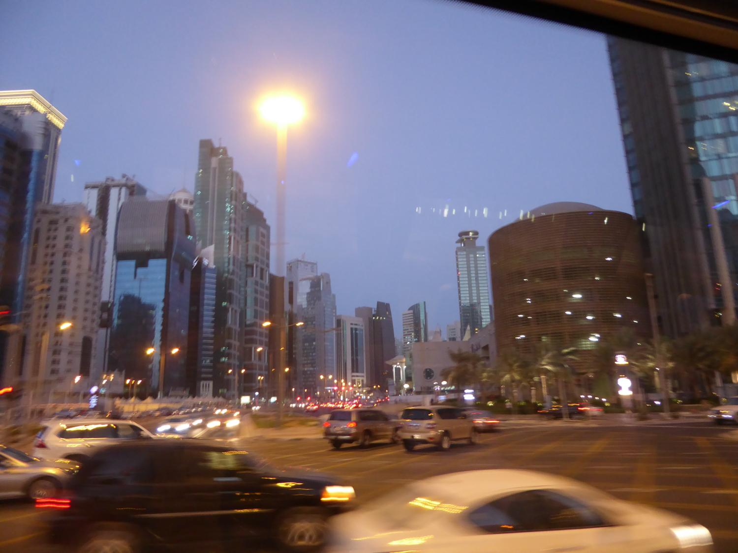 Abend in Doha