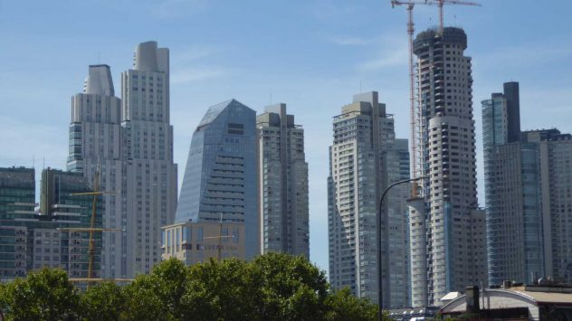 Skyscapers in Buenos Aires