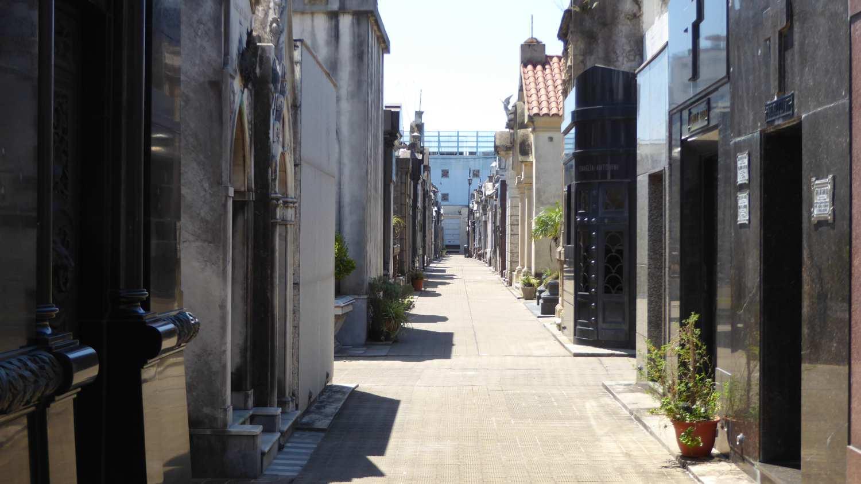 El Cemeterio de la Recoleta