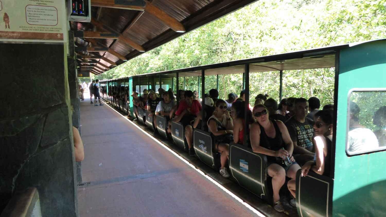 the Train to the Iguaçu Falls