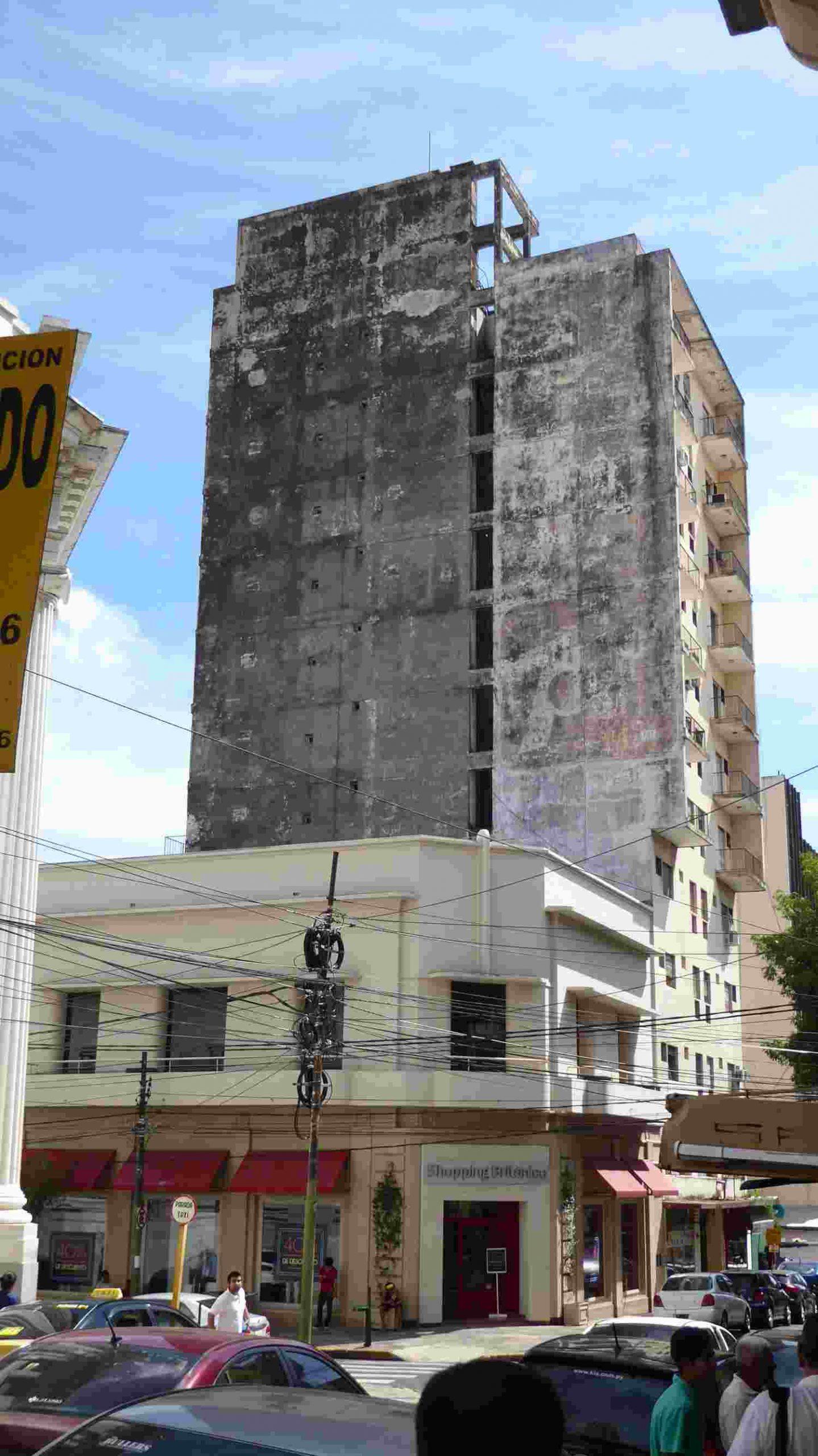 high buildings in Asuncion