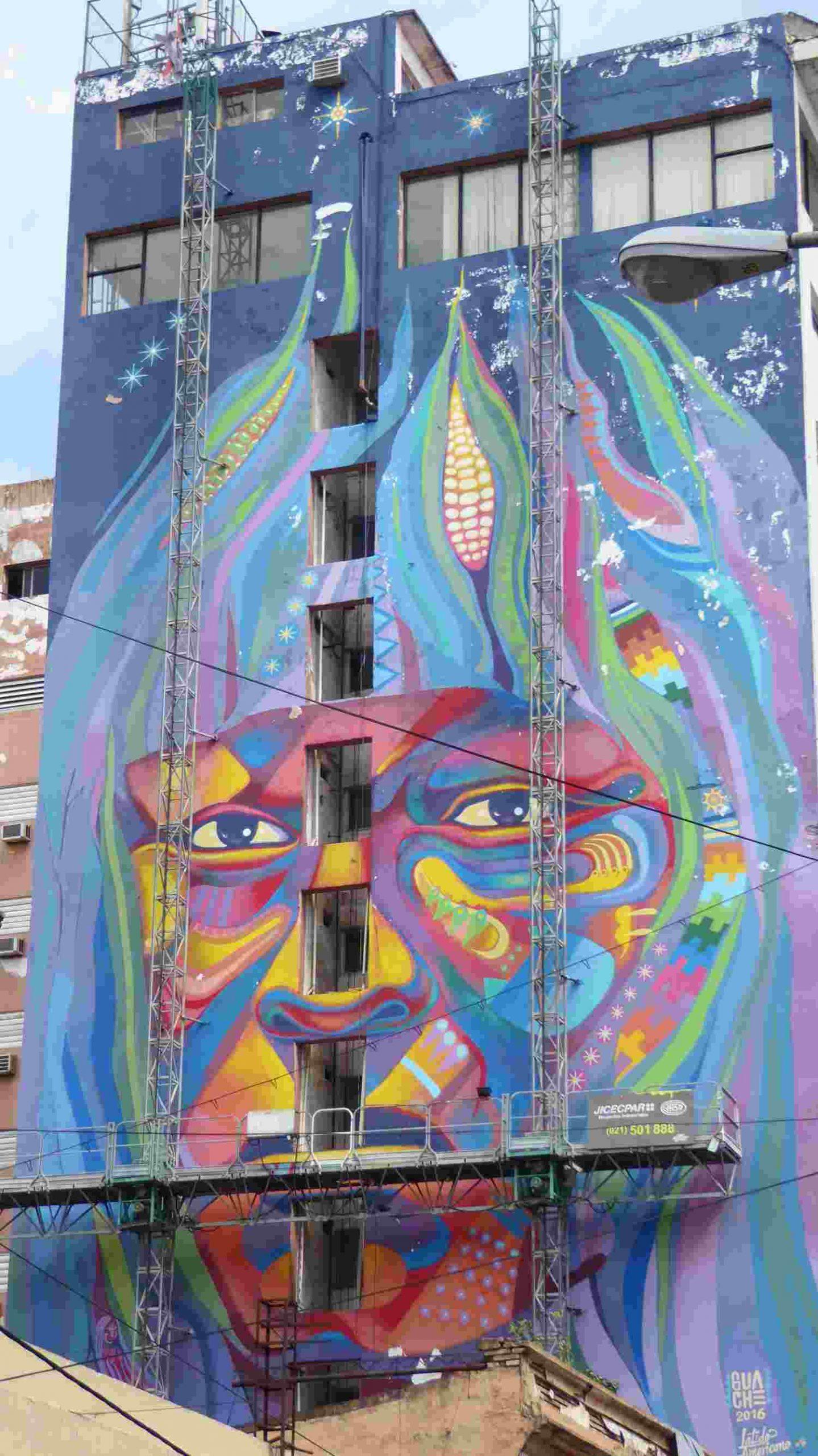Murales in Asuncion