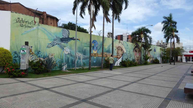 Awesome Murales in Santa Cruz
