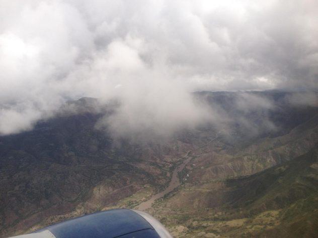 Flight to Sucre