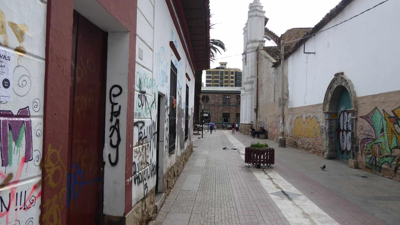 Cochabamba alleys