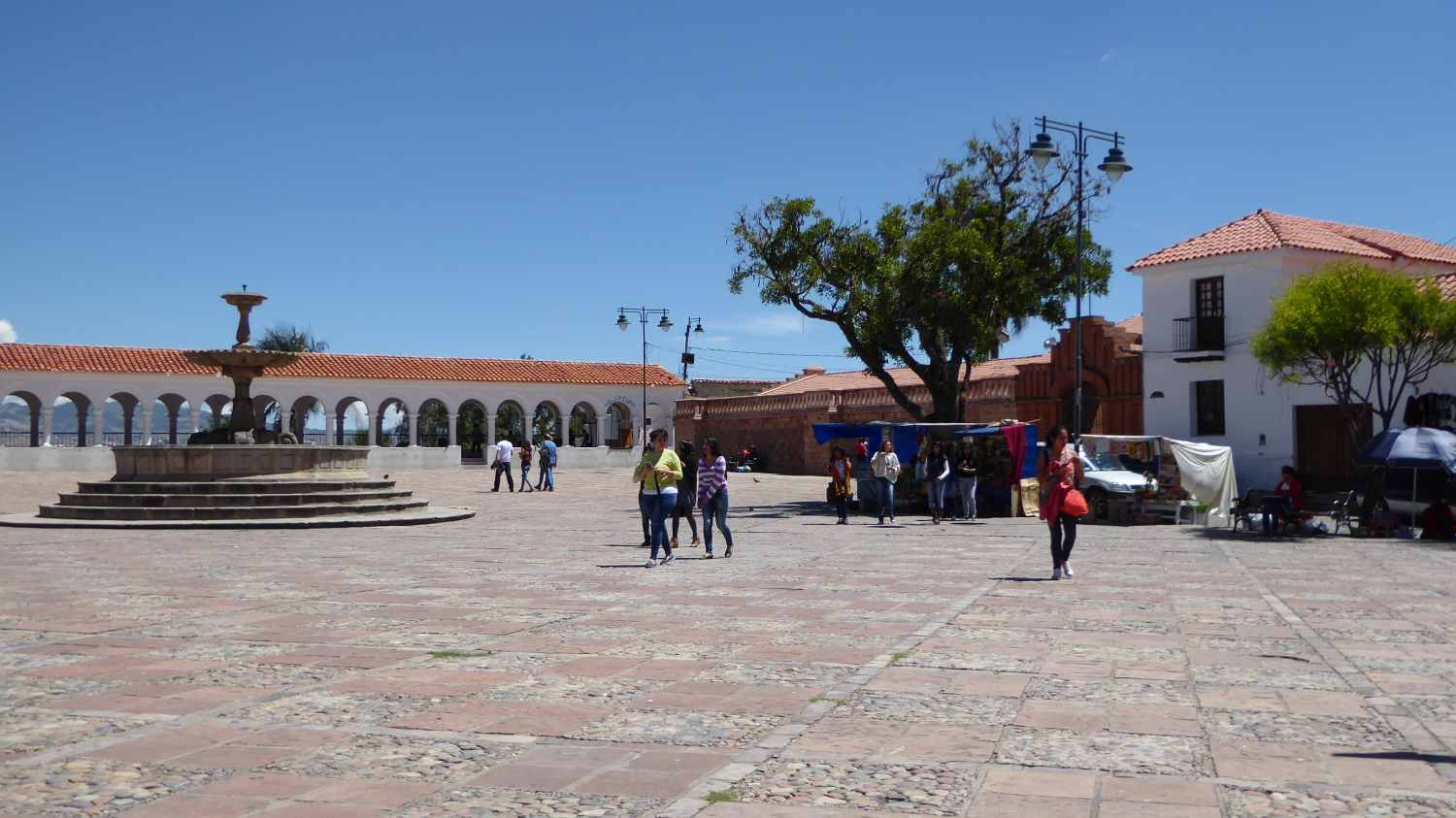 Squares in Sucre