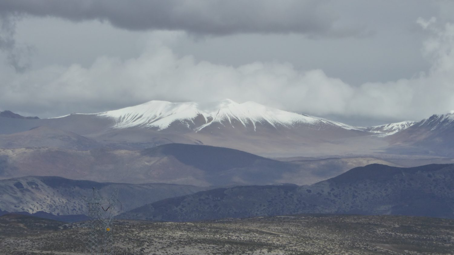 ... and snowcapped mountains