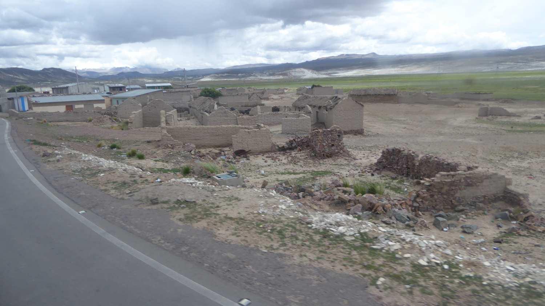 Derelict village