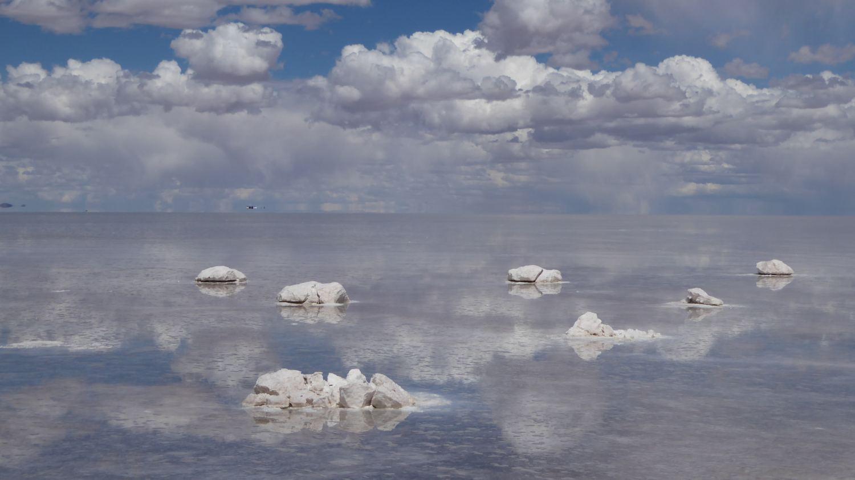 Uyuni Salt Flat salt or rocks?