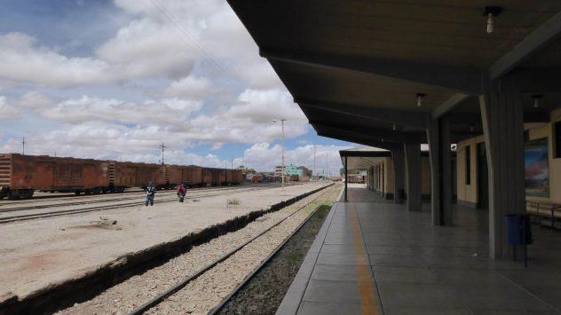 deserted railway station in Uyuni 2