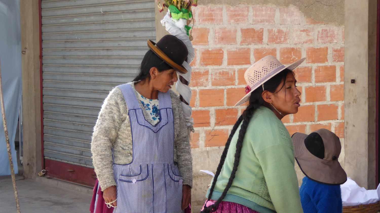 Indio Women in Uyuni
