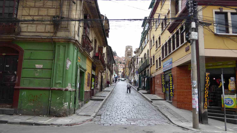 Sidestreets of La Paz