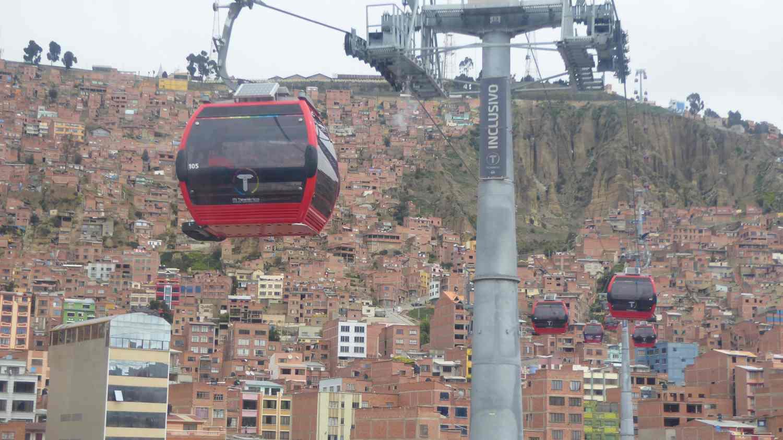 Up to El Alto