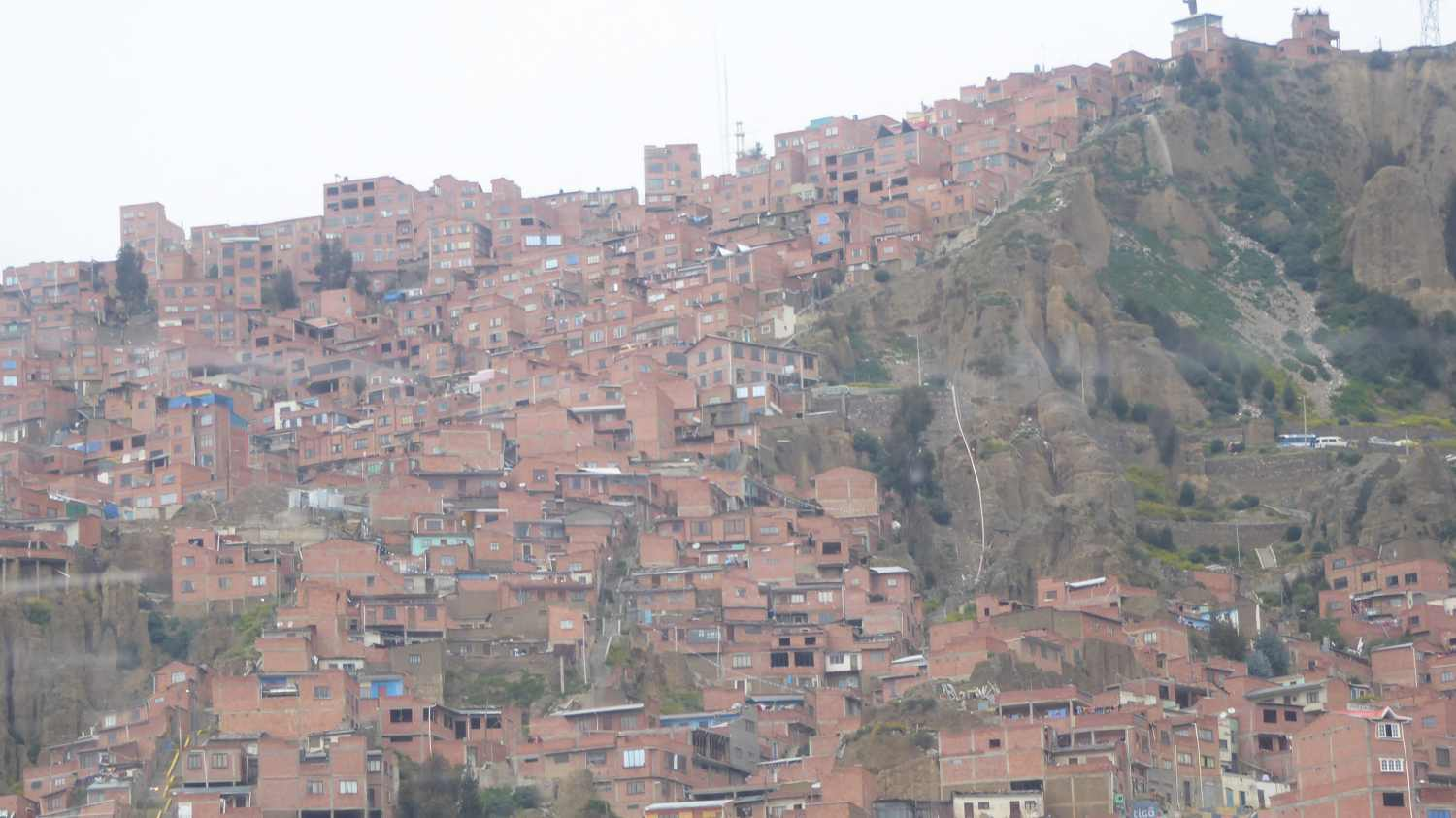 Red houses on the hill