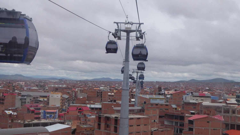 The El Azul Line in El Alto