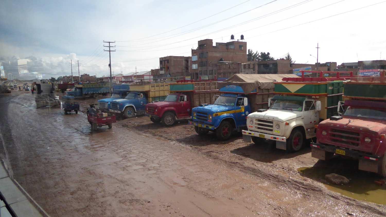 dirty roads