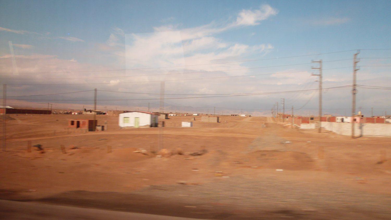 a brown desertlike plain in Peru