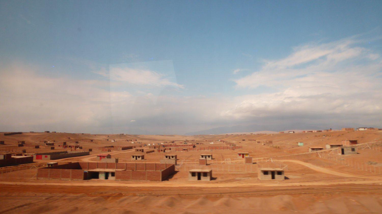Brown desert in Peru