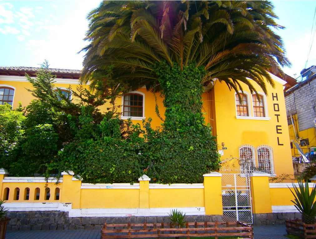 The Yellow House in Quito