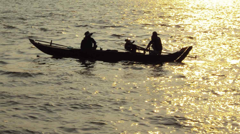 Permalink auf:Kambodscha – Mekong beim Sonnenaufgang