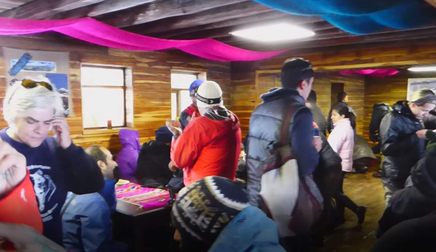Hut on the Cotopaxi