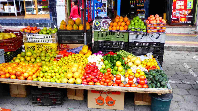 Market in Ecuador 2