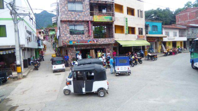 sometimes a few Tuktuks Colombian style