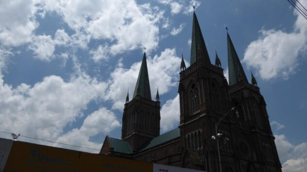 Cathedral in Medellin