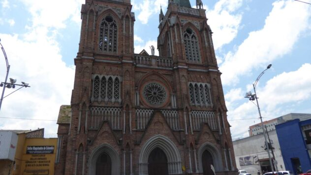 The old spanish architecture in Medellin